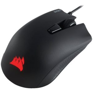 Mouse Alambrico Gaming Corsair HARPOON RGB Color Negro