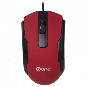 Mouse Alambrico One Proctor EM131 Color Rojo