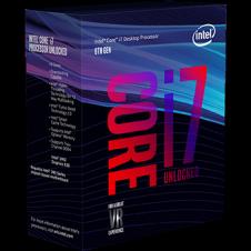 Procesador Intel Core i7 8700K 8th Gen  4.7Ghz Turbo (No incluye Disipador)