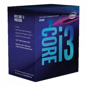 Procesador Intel Core i3-8100 / 3.6Ghz