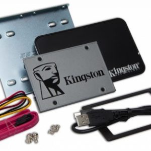 "Unidad de Estado Solido SSD Kingston 2.5"" 500MBps 240GB (Upgrade KIT)"