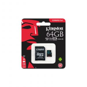 Tarjeta de memoria flash Kingston Canvas Go!  64 GB