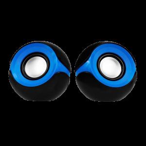 Bocina 2.0 Argom Orbit Para PC Azul Negro 3W