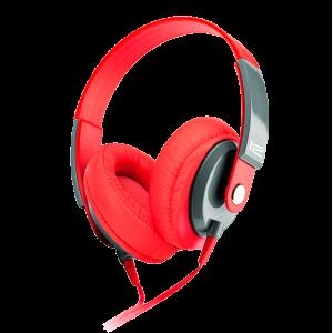 Audífonos Klip Xtreme Stereo 3.5mm Color Rojo