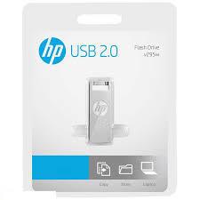 Memoria USB HP 16GB 295W Color Plateado
