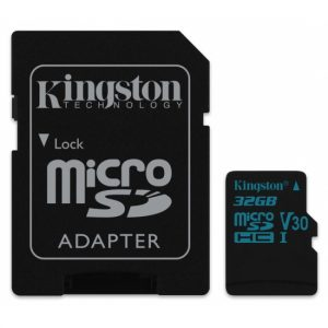Tarjeta de memoria flash Kingston Canvas Go! 32 GB