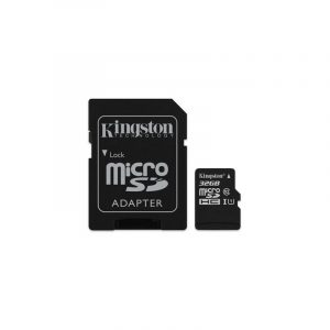 Memoria MicroSD Kingston Canvas Select 32GB Con Adaptador Clase 10 Para Android