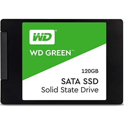Unidad en estado sólido Western Digital Green 120GB