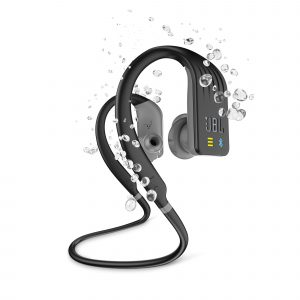 Audifonos Bluetooth JBL Endurance Dive Para Nadar color Negro