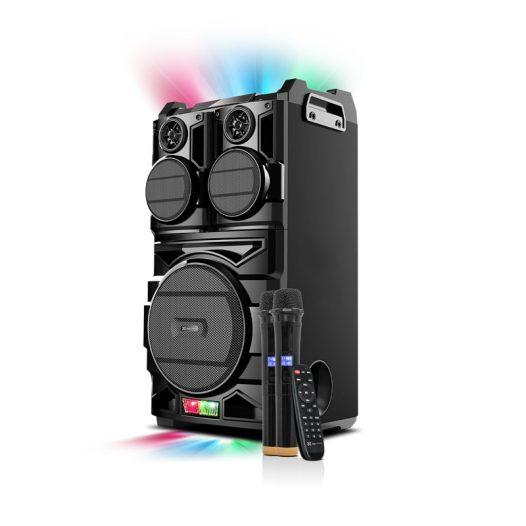 Bocina Bluetooth Con Micrófonos inalámbricos Klip Xtreme KWS-920