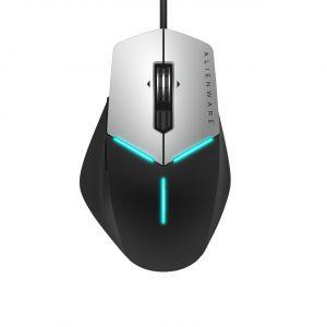 Mouse Alambrico Gaming Alienware Color Negro con Plateado