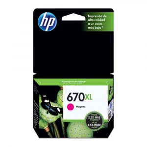 Cartucho original de tinta magenta de alto rendimiento HP