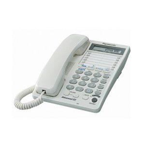 Teléfono de escritorio 2 líneas Panasonic