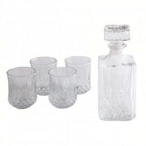Set de licorera con vasos Gibson