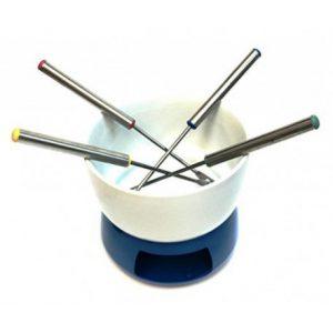 Bowl para fondue color azul