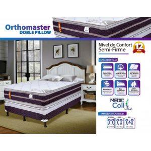 Cama King Size Orthomaster Doble Pillow Marca Facenco