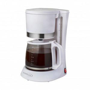 Cafetera blanca Premium