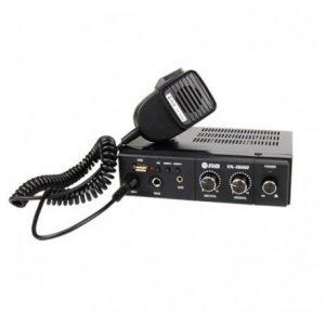 Amplificador para publidifucion con microfono Marca Nippon America