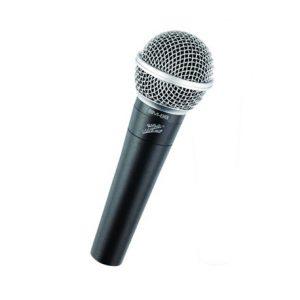 Microfono dinamico alambrico profesional Marca Zebra
