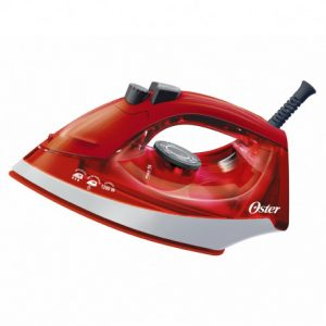 Plancha Oster a vapor de ropa color rojo