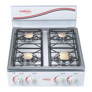 Estufa Premium de mesa de 4 hornillas