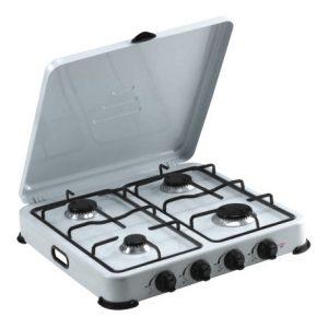 Estufa de mesa con 4 hornillas Marca Premium