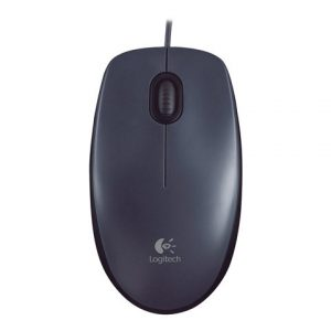 Mouse Alambrico Logitech M100 Color Negro