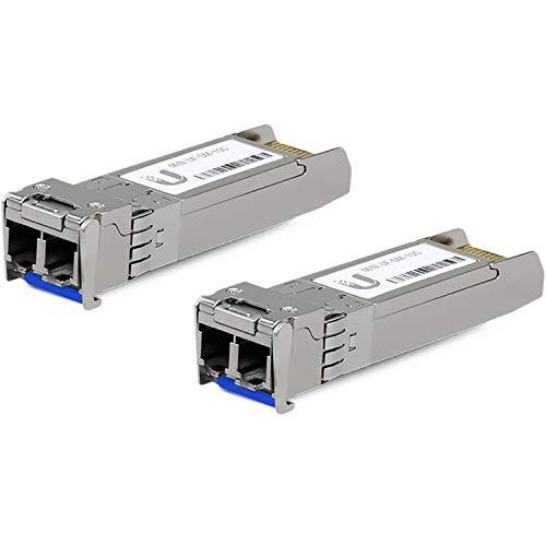 Módulo de transceptor Ubiquiti U Fiber SFP+ - 10 GigE (Paquete de 2 Unidades)