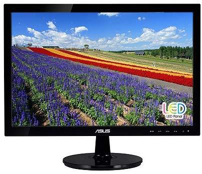 """Monitor ASUS 18.5"""" VS197D-P color Negro con Salida VGA"""