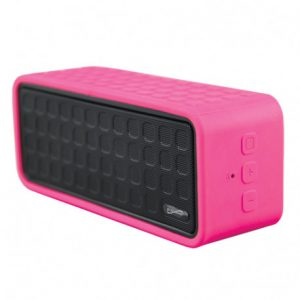 Bocina Bluetooth Marca Super Sonic Color Rosado
