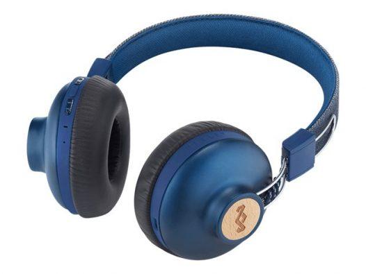 Audifonos House of Marley Positive Vibration 2 Bluetooth Color Azul