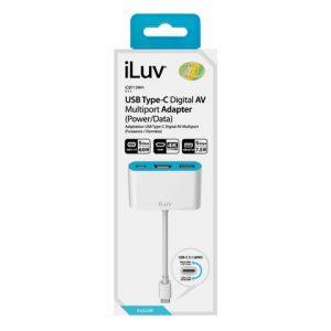 Adaptador USB C a HDMI - iLuv