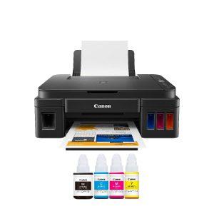 Impresora Multifuncional Canon Pixma G2110 de Sistema Continuo USB