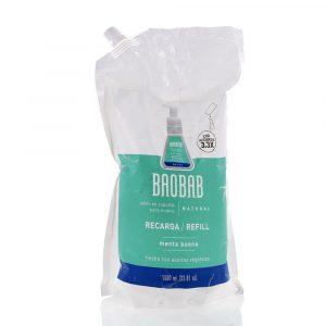 Refill de jabón en espuma para manos - Baobab - Menta Buena