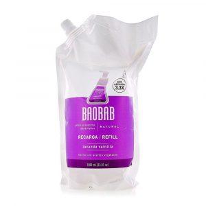 Refill de Jabón en espuma para manos - Baobab - Lavanda Vainilla