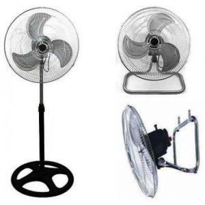 """Ventilador Metálico de 18"""" 3 en 1"""