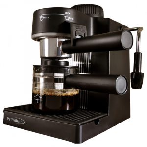 Cafetera para Expreso y Capuchinos Marca Premium