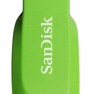 Memoria USB SanDisk Cruzer Blade 16GB Color Verde