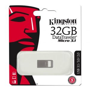 Memoria USB Kingston 32GB 3.1 DT Micro