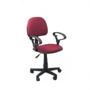 Silla con Apoyabrazos para Escritorio de Computadora Xtech Color Rojo