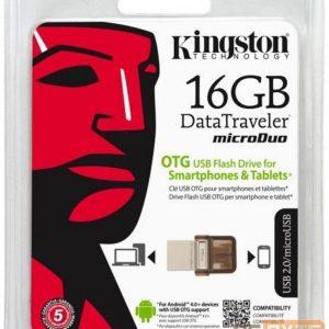Memoria USB Kingston 16GB 2.0 DTDUO