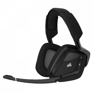 Audifonos Gaming Corsair VOID PRO RGB 7.1 Dolby Inalámbrico Negro