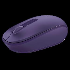Mouse Inalámbrico Microsoft 1850 Color Morado
