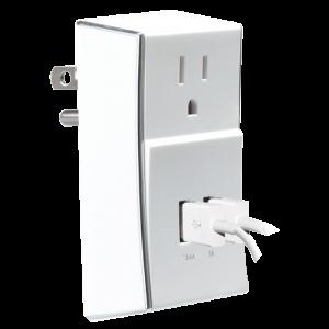 Cargador de Pared Imexx 3 Tomas USB Blanco