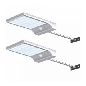 Reflector solar blanco de 36 led