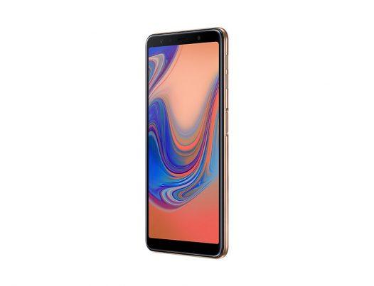 Celular Samsung A7 2018 Dorado