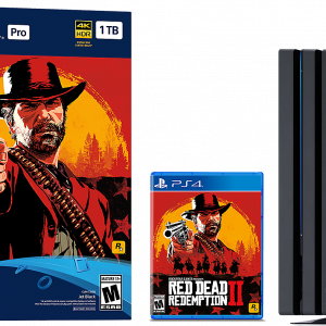 Consola PlayStation 4 Pro 1TB Red Dead Redemption 2