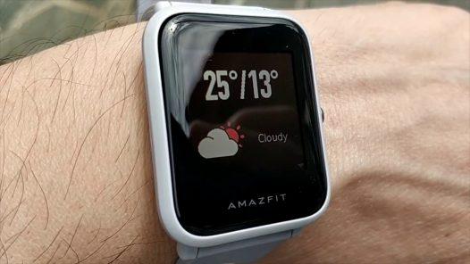 Reloj Smartwatch Amazfit Bip Gris