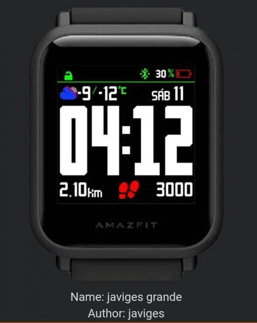 Smartwatch Amazfit Bip Bluetooth GPS Negro