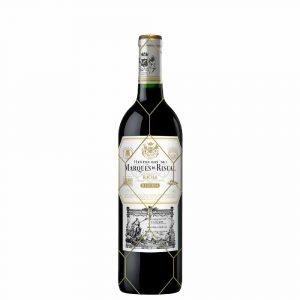 Botella de Vino Tinto Marques De Riscal Reserva – Tempranillo/Graciano – España – Herederos del Marqués de Riscal